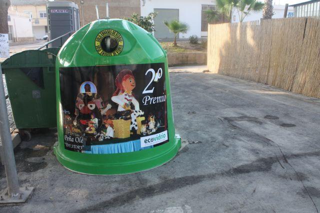 El Ayuntamiento de Torre-Pacheco y Ecovidrio fomentan el reciclado de envases de vidrio durante las fiestas patronales - 1, Foto 1
