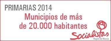 El PSRM celebrará primarias en cinco de los dieciséis municipios de más de 20.000 habitantes, Foto 1