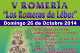 La V Romería Los Romeros de Lebor se traslada al domingo 26 de octubre