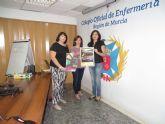 Representantes de D´Genes se reúnen con la presidenta del Colegio de Enfermería de la Región de Murcia