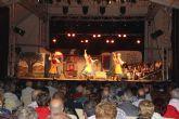 """Aire de folklore a cargo de Coros y Danzas """"Virgen del Rosario"""" en las fiestas de Puerto Lumbreras"""