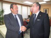 El consejero de Fomento se reúne con el vicepresidente de Etosa