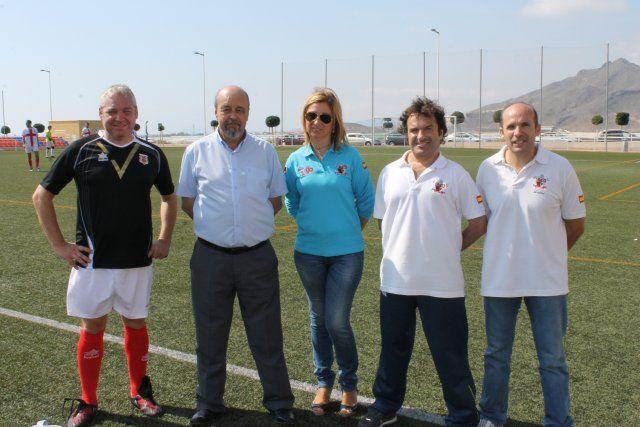 El Torneo de Veteranos de Mazarrón recauda cerca de cinco mil euros a beneficio de la Asociación todo Corazón, Foto 2