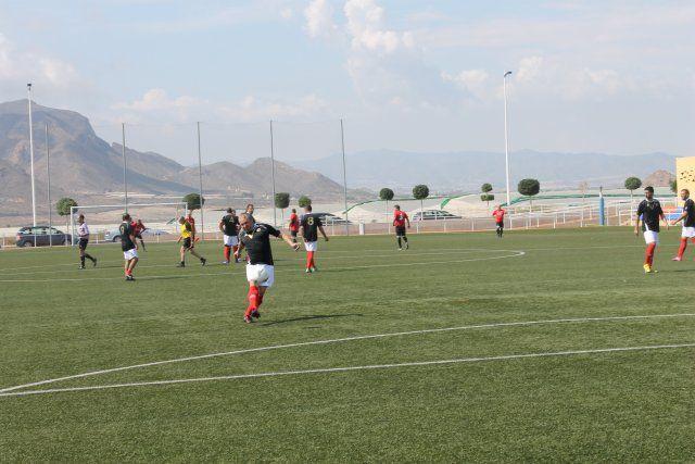 El Torneo de Veteranos de Mazarrón recauda cerca de cinco mil euros a beneficio de la Asociación todo Corazón, Foto 4
