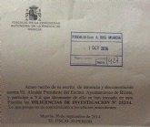 La fiscalía abre diligencias de investigación contra el alcalde de Ricote tras la denuncia de AIRE
