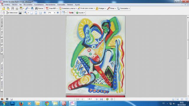 El Ayuntamiento de Mazarrón edita ´A siete tintas´, una obra serigráfica realizada por prestigiosos pintores - 1, Foto 1