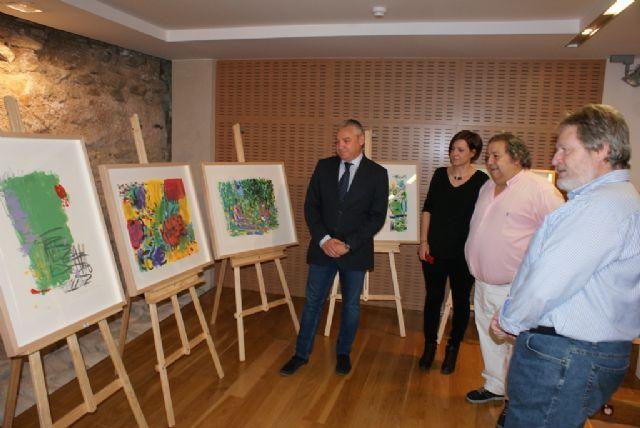 El Ayuntamiento de Mazarrón edita ´A siete tintas´, una obra serigráfica realizada por prestigiosos pintores - 4, Foto 4