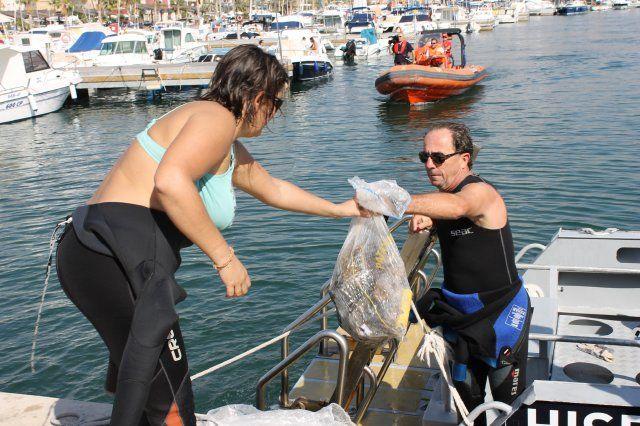 Doscientas personas participarán en la XX limpieza de fondos marinos Bahía de Mazarrón - 4, Foto 4