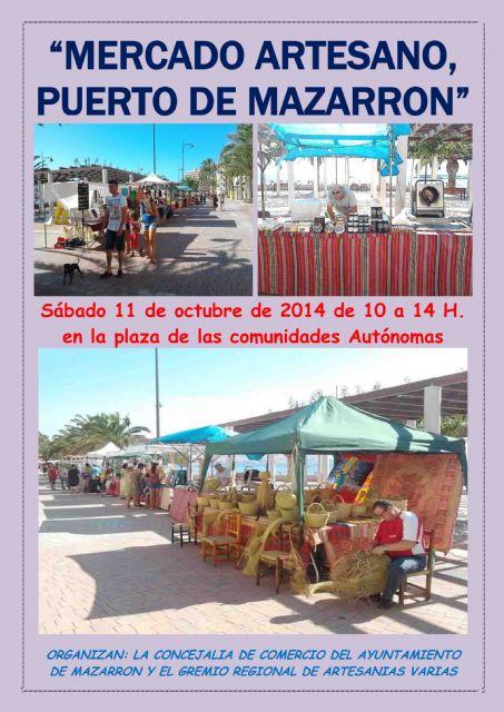Nueva cita con el mercado artesano de Puerto de Mazarrón, Foto 1
