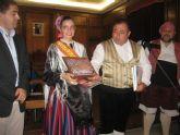 Actuación del Grupo Folcórico Virgen de la Salud en el XXV Festival de Alcoy