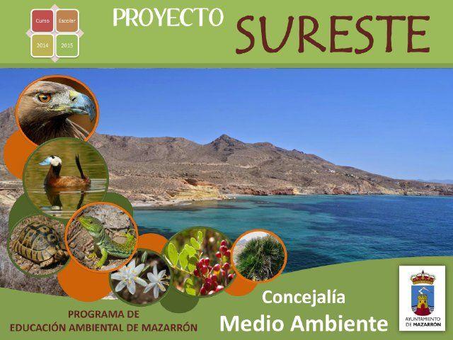 Medio Ambiente desarrolla una vez más en las aulas el Programa Sureste, Foto 1