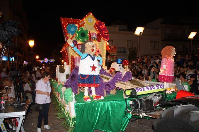 Star Majoretes obtiene el primer premio en el Desfile de Carrozas de Papelillo - 1, Foto 1