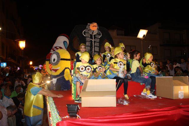 Star Majoretes obtiene el primer premio en el Desfile de Carrozas de Papelillo - 2, Foto 2