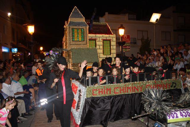 Star Majoretes obtiene el primer premio en el Desfile de Carrozas de Papelillo - 3, Foto 3