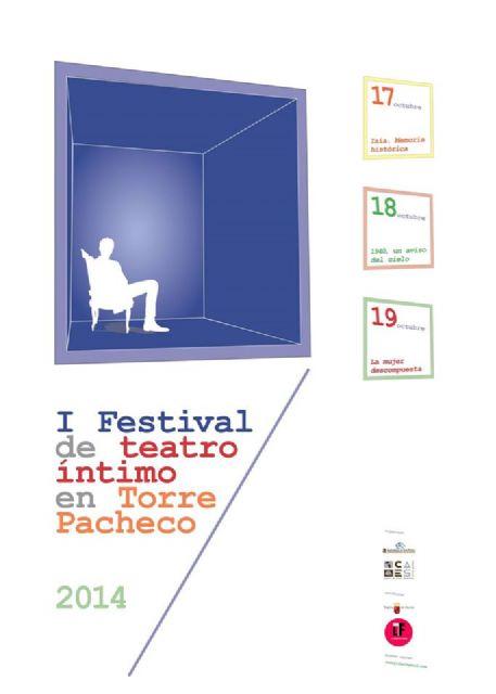 """Llega a Torre-Pacheco el """"I Festival de Teatro Íntimo"""", una nueva forma de vivir este arte - 1, Foto 1"""