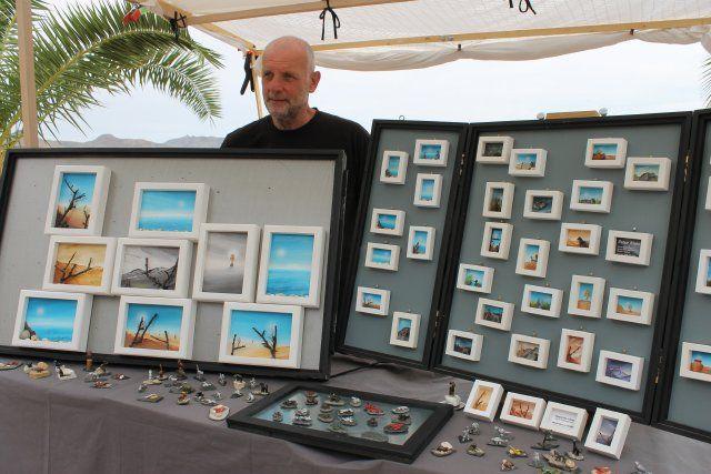 Más de 60 artesanos exponen sus trabajos en el paseo marítimo - 4, Foto 4
