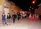 El barrio torreño de La Florida despidió sus festejos con la procesión de la patrona