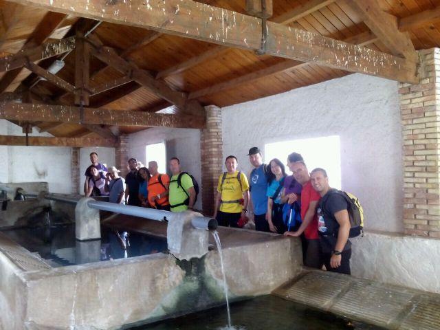La concejalia de Deportes organizó una ruta de senderismo por la Zarzadilla de Totana, Foto 5