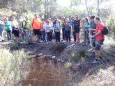 La concejalia de Deportes organizó una ruta de senderismo por la Zarzadilla de Totana