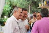 El Secretario General del PSOE en la Regi�n de Murcia, Rafael Gonz�lez Tovar, visita un año m�s la Feria de Alhama