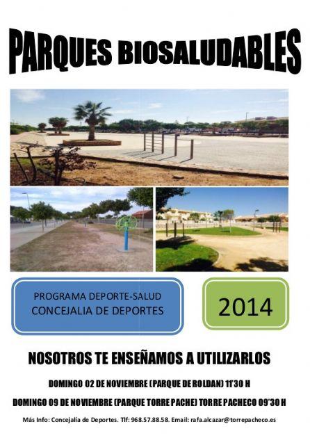 El Ayuntamiento de Torre-Pacheco fomenta el deporte en la calle a través de los parques biosaludables - 1, Foto 1
