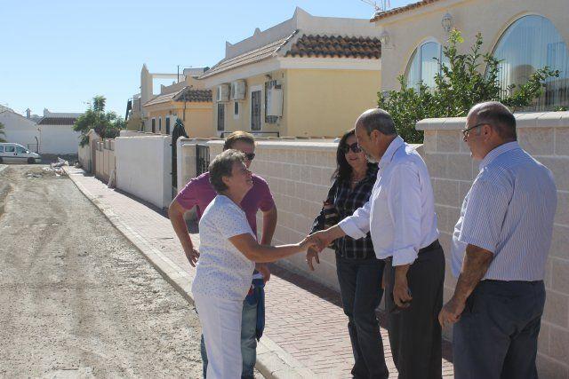 Técnicos municipales buscarán soluciones en la cabecera de la rambla para evitar inundaciones en Camposol, Foto 1