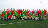 Los veteranos del Cotillas CF rinden un homenaje póstumo a su compañero Lucio Gómez