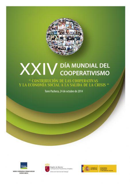 La ministra Fátima Bañez asistirá al Día Mundial del Cooperativismo que se celebrará en Torre-Pacheco el día 24 de octubre - 1, Foto 1