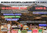 Puerto Lumbreras recupera la Clásica Ciclista Subida al Cabezo de la Jara 'Trofeo Gines García Perán'