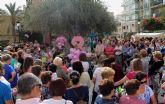 Mujeres lumbrerenses participan en la VI Marcha Popular con motivo del Día Internacional Contra el Cáncer de Mama