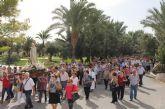 Puerto Lumbreras reúne a más de 500 personas en la jornada de convivencia de la Hospitalidad de Lourdes de la Región de Murcia