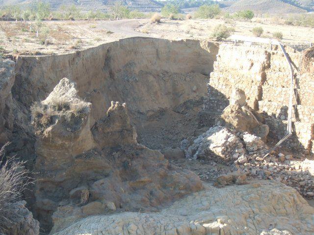 Agricultura inicia las obras del puente de Cañada de Romero afectado por la riada de 2012 - 3, Foto 3