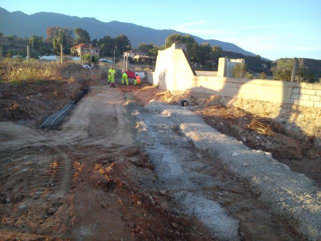 El Ayuntamiento de Alhama acomete obras de mejora en el camino del Cañarico hacia Librilla, Foto 1