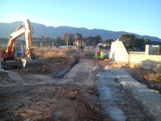 El Ayuntamiento de Alhama acomete obras de mejora en el camino del Cañarico hacia Librilla, Foto 3