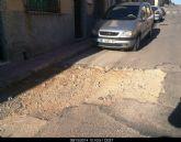 IU-v denuncia la 'deprimente situación y el abandono por parte del PP del Barrio de Villa Cohete'