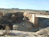 Agricultura inicia las obras del puente de Cañada de Romero afectado por la riada de 2012