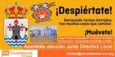 Asamblea para la elección de la Junta Directiva Local del partido Ciudadanos de Totana