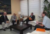 El consejero de Fomento se reúne con el alcalde de Cieza