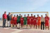 El Alcalde recibe a los Campeones de España de Fútbol Playa