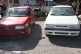 El Ayuntamiento cede dos coches del depósito al IES Gerardo Molina, para que sus alumnos realicen prácticas