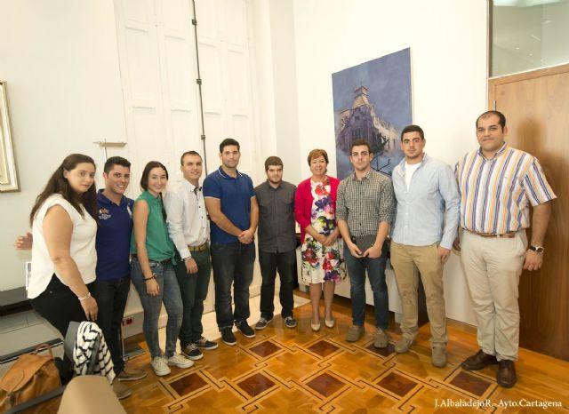 Los jóvenes de Cartagena celebran los 25 años de la Asociación A�ncora - 1, Foto 1