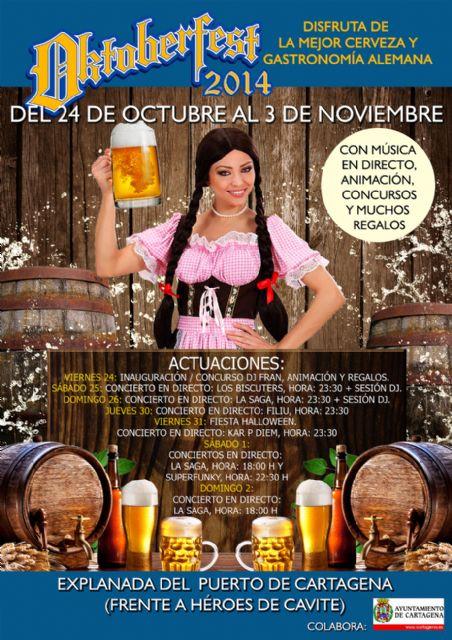 La mejor cerveza y gastronomía alemana ya están en el puerto con la Oktoberfest - 3, Foto 3