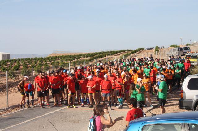 Más de 200 personas participan en la I Vuelta al Cabezo Gordo - 1, Foto 1