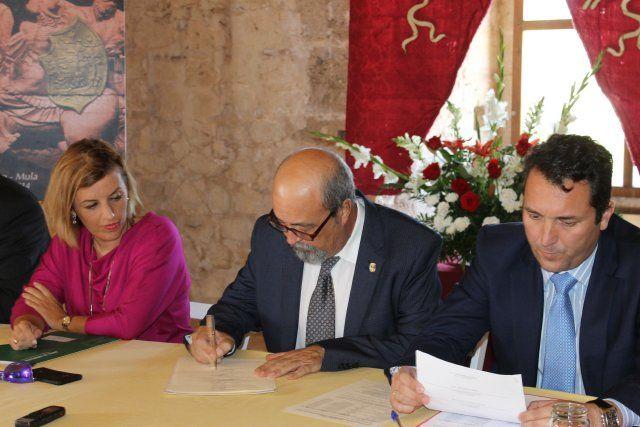 El alcalde asiste a la constitución de la Asociación de Municipios del Marquesado de los vélez, Foto 1