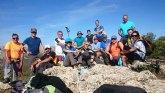 El Club senderista de Totana realizó una ruta desde Las Alquerias hasta la cima de las cunas