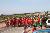 Más de 200 personas participan en la I Vuelta al Cabezo Gordo