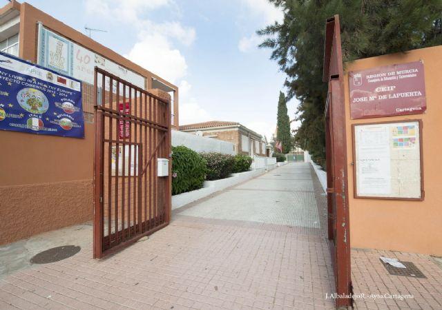 El colegio José Ma Lapuerta concluirá la próxima semana sus obras de remodelación - 5, Foto 5