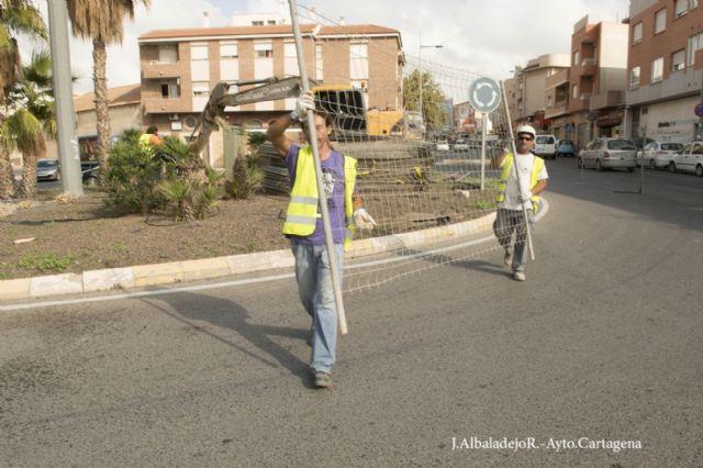 Comienzan las obras en calle Alfonso XIII de Los Dolores - 1, Foto 1