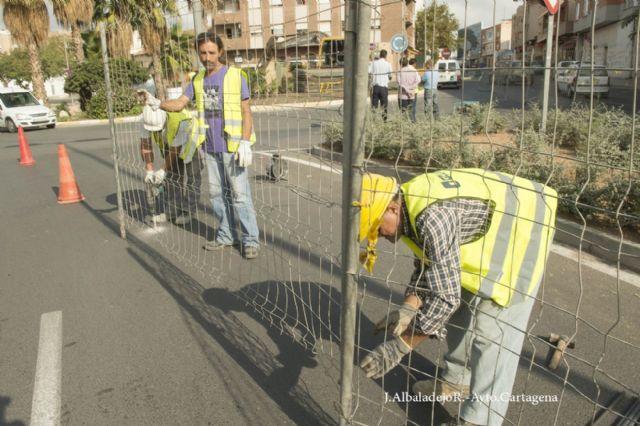 Comienzan las obras en calle Alfonso XIII de Los Dolores - 3, Foto 3