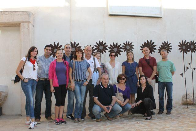 Técnicos de la Red de Oficinas de Información Turística visitan Alhama, Foto 1